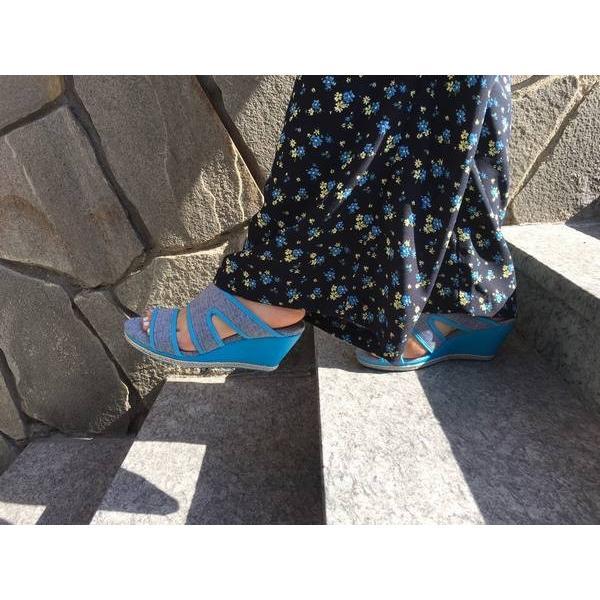 サンダル レディース チル ccilu betty-pulu ミュール ウエッジソール 靴 アウトドア|ccilu|02
