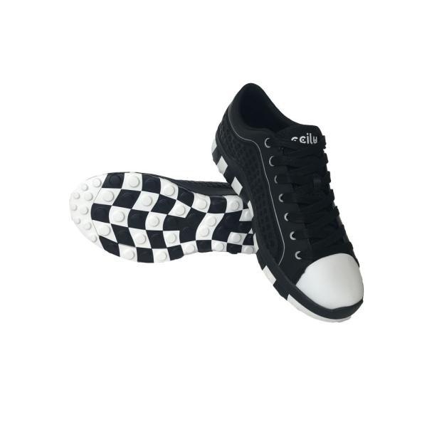 スニーカー メンズ おしゃれ 黒 白 軽量 チル ccilu レディース 靴 20代 30代  40代 50代 60代 アウトドア|ccilu|11