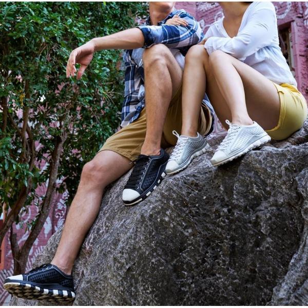 スニーカー メンズ おしゃれ 黒 白 軽量 チル ccilu レディース 靴 20代 30代  40代 50代 60代 アウトドア|ccilu|03