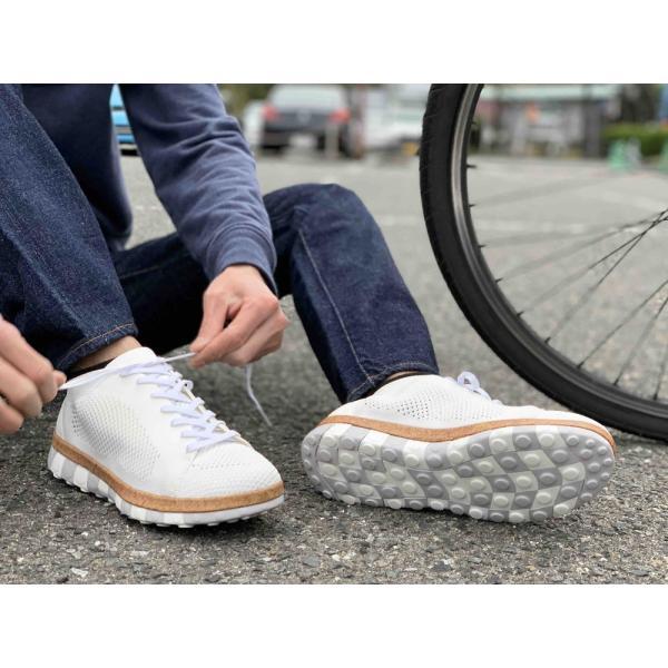 コンフォートシューズ スニーカー メンズ ブラック  ホワイト シューズ 靴 チル ccilu ccilu 06