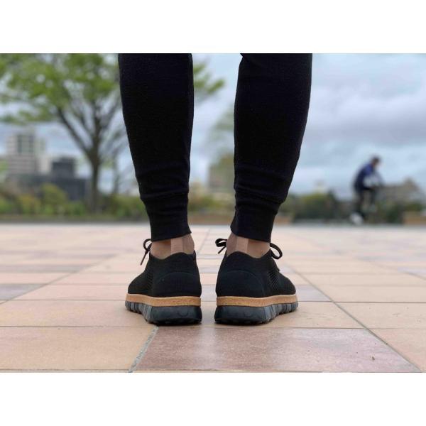 コンフォートシューズ スニーカー メンズ ブラック  ホワイト シューズ 靴 チル ccilu ccilu 10