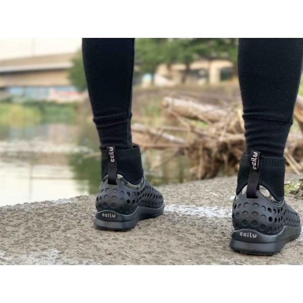 コンフォートシューズ メンズ カジュアル カモフラ ドハイカット スリッポン ccilu チル 靴 アウトドア|ccilu|16
