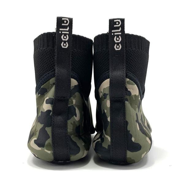 コンフォートシューズ メンズ カジュアル カモフラ ドハイカット スリッポン ccilu チル 靴 アウトドア|ccilu|10