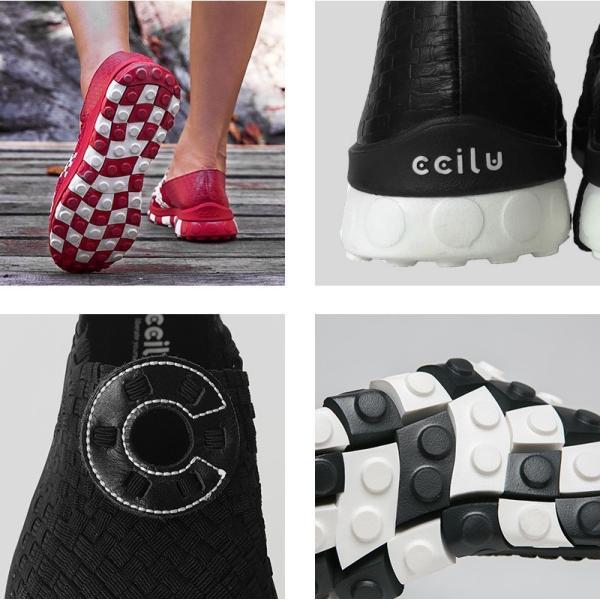 スリッポン メンズ 黒 軽量 チル ccilu HORIZON LINK コンフォートシューズ レディース 靴 アウトドア|ccilu|04