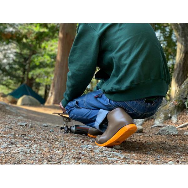 レインシューズ メンズ レインブーツ おしゃれ ショート 防水 雨 長靴 軽量 スニーカー チル ccilu アウトドア|ccilu|13