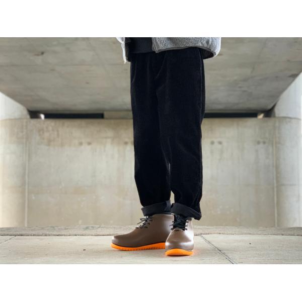 レインシューズ メンズ レインブーツ おしゃれ ショート 防水 雨 長靴 軽量 スニーカー チル ccilu アウトドア|ccilu|15