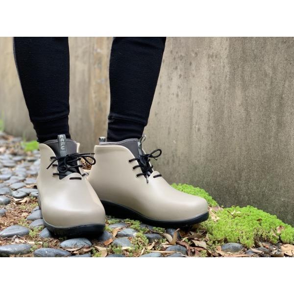 レインシューズ メンズ レインブーツ おしゃれ ショート 防水 雨 長靴 軽量 スニーカー チル ccilu アウトドア|ccilu|18