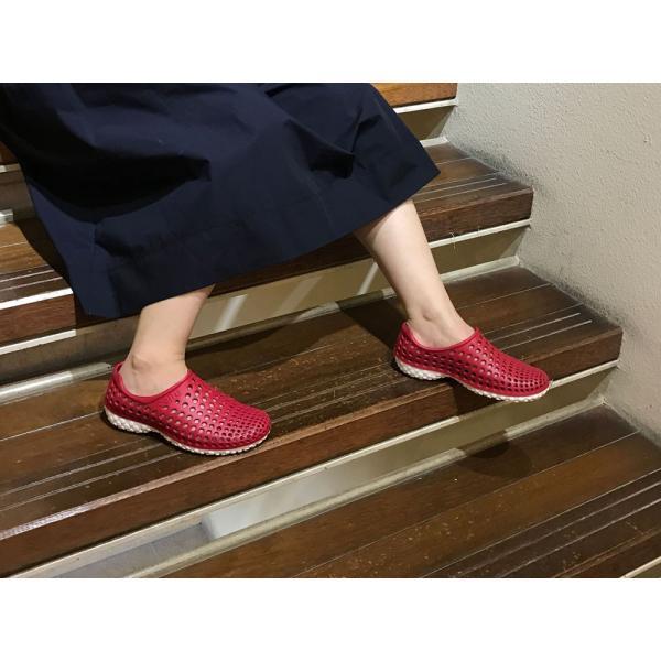 サンダル レディース 夏 履きやすい 疲れにくい チル ccilu  スリッポン スリッパ マリン 靴 旅行 アウトドア レジャー 水陸両用|ccilu|07