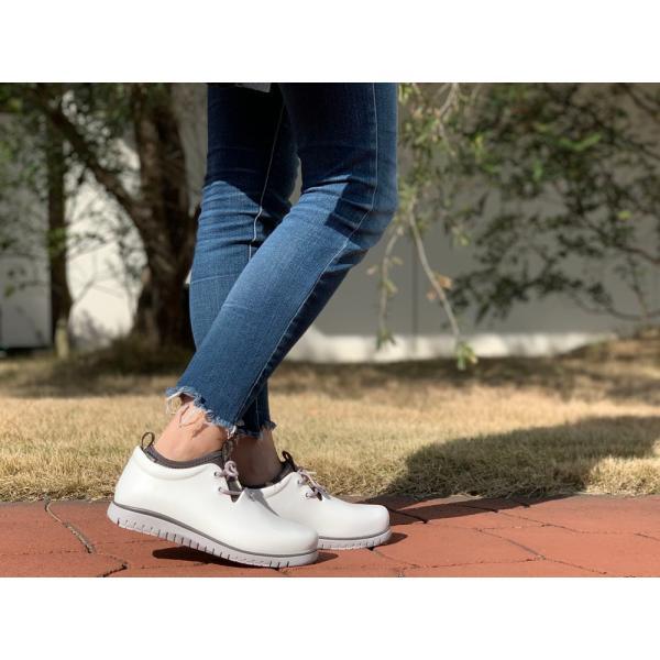 レインシューズ レディース スニーカー おしゃれ 軽量 防水 軽い 雨靴 長靴 滑り止め|ccilu|09