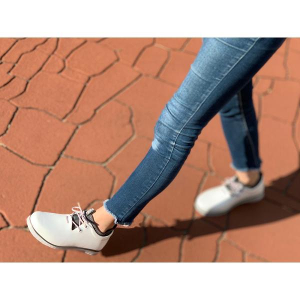 レインシューズ レディース スニーカー おしゃれ 軽量 防水 軽い 雨靴 長靴 滑り止め|ccilu|10