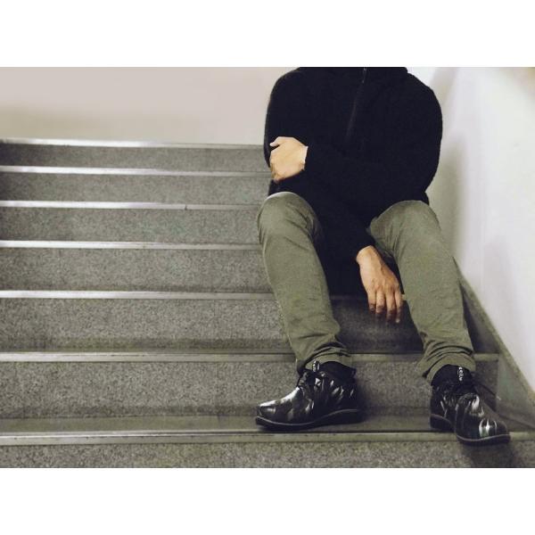 レインシューズ レディース ショート 黒 おしゃれ 軽量 防水  軽い 雨靴 長靴 女性 スニーカー チル パント リア ccilu PANTO|ccilu|14