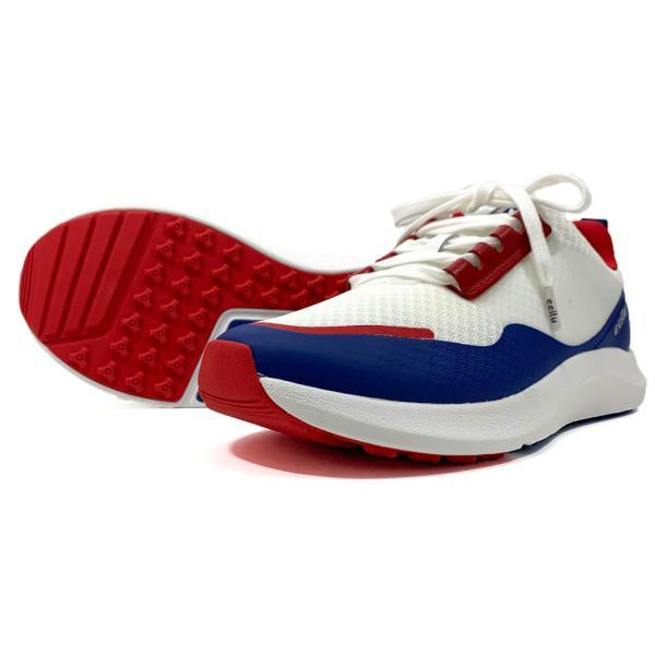ゴルフシューズ メンズ スパイクレス スニーカー 白 25.5-28.5 チル ccilu シューズ|ccilu|03