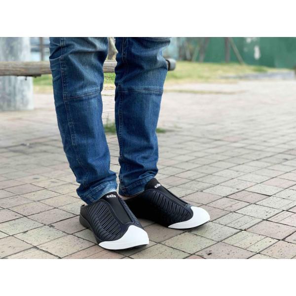 コンフォートシューズ スリッポン メンズ ブラック  ホワイト シューズ 靴 サンダル オフィス ナース チル ccilu アウトドア ccilu 10