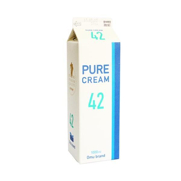オーム 生クリーム42%  純生クリーム、ホイップクリーム、ホームメイドショップKIKUYA