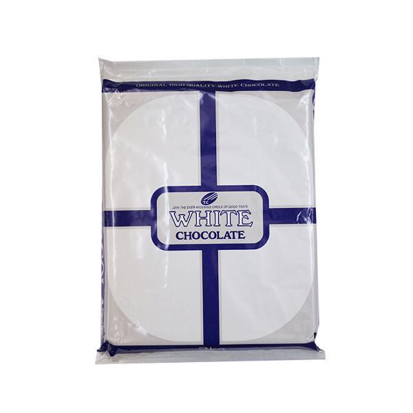 クーベルチュール ホワイトチョコ 2kg 板チョコ 製菓用 ブラン 大東カカオ