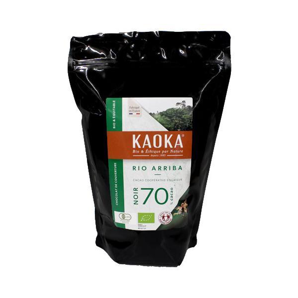 カオカ リオアリバ 70% 1kg 有機チョコレート オーガニック クーベルチュール
