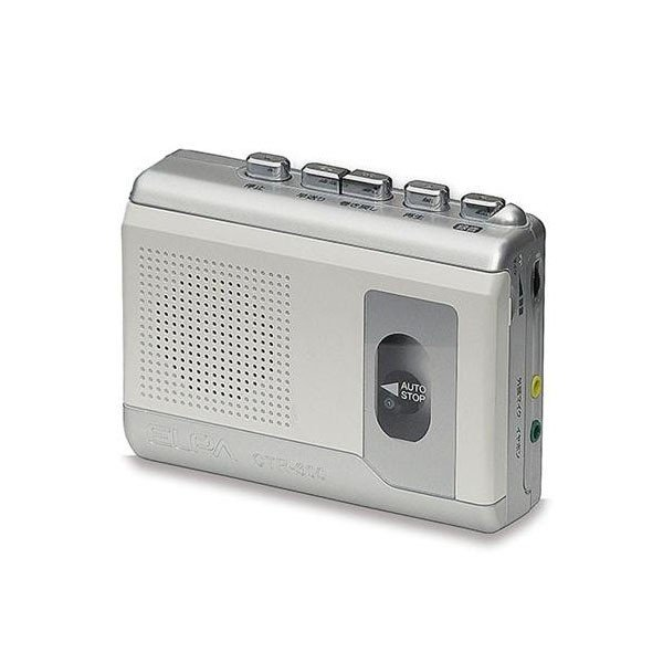 (代引不可)ELPA(エルパ) カセットテープレコーダー CTR-300 1828200