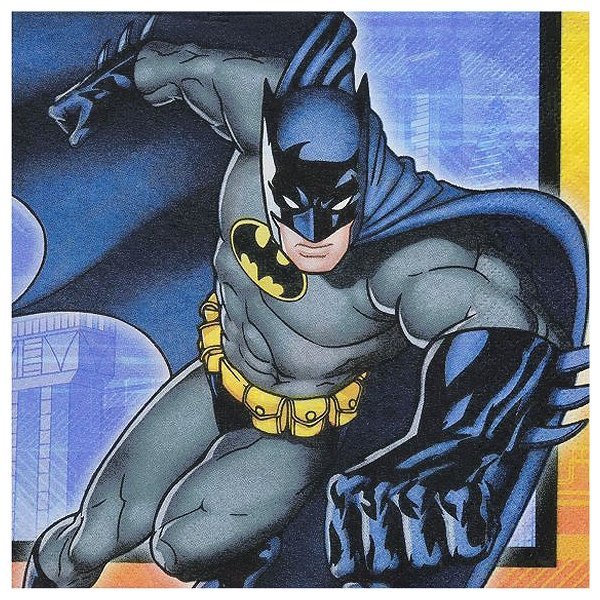 1枚バラ売りペーパーナプキン バットマン BATMAN アメコミ 紙ナフキン デコパージュ ドリパージュ 511386|ccpopo