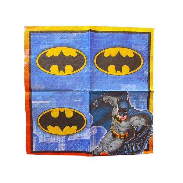 1枚バラ売りペーパーナプキン バットマン BATMAN アメコミ 紙ナフキン デコパージュ ドリパージュ 511386|ccpopo|02