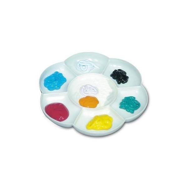 スタンペリア Stamperia イタリア デコパージュ用パレット Plastic Palette with 7 compartments KR12|ccpopo|02