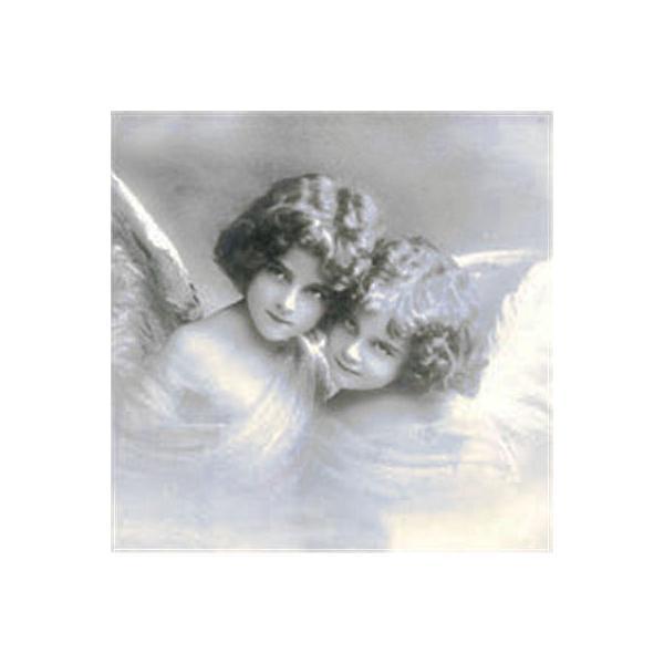 Sagen Vintage Design ノルウェー ペーパーナプキン Sweet angels 2062 バラ売り2枚1セット デコパージュ ドリパージュ