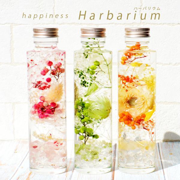 ハーバリウム ギフト 誕生日 プレゼント パワーストーン さざれ石 入り 置き物 天然石|ccr