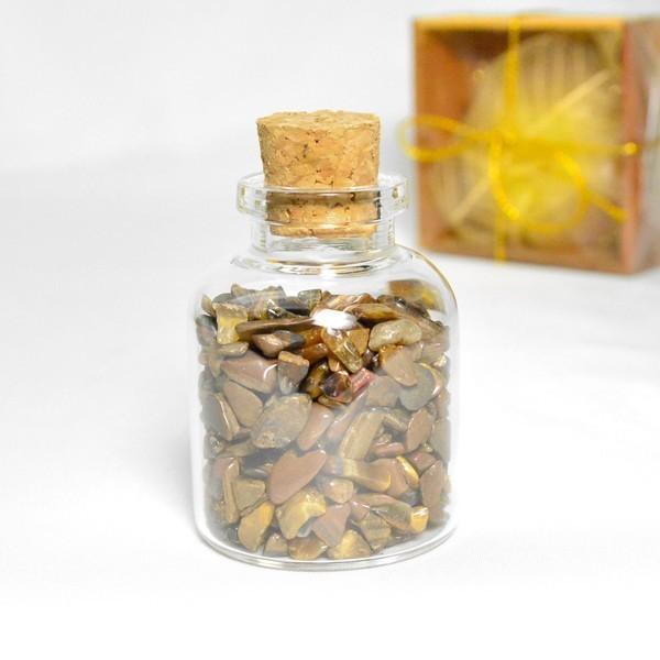 送料無料 パワーストーン さざれ石 ガラス小瓶 ローズクォーツ 水晶 タイガーアイ 天然石|ccr|07