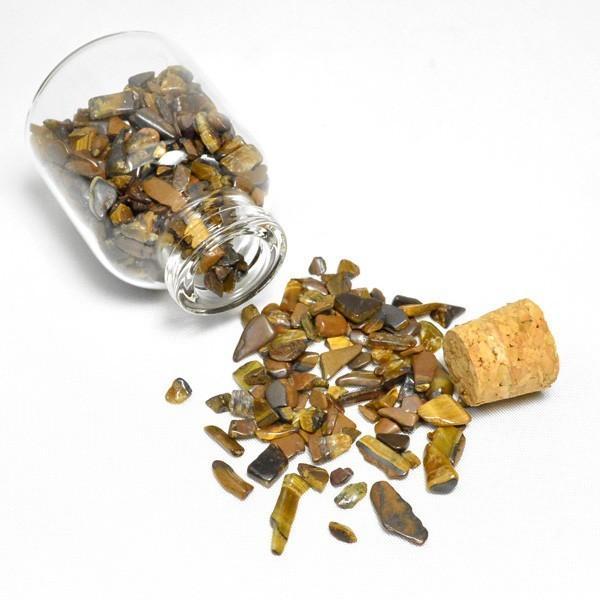 送料無料 パワーストーン さざれ石 ガラス小瓶 ローズクォーツ 水晶 タイガーアイ 天然石|ccr|08