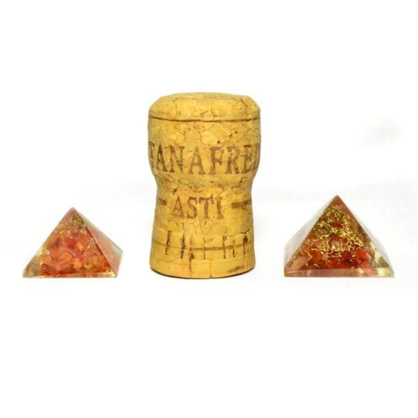 パワーストーン 置き物 ミニオルゴナイト ピラミッド 天然石|ccr|04
