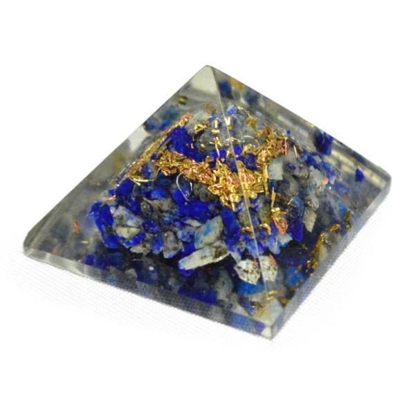 パワーストーン 置き物 ミニオルゴナイト ピラミッド 天然石|ccr|06