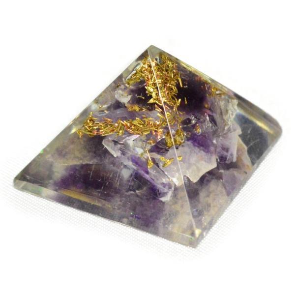 パワーストーン 置き物 ミニオルゴナイト ピラミッド 天然石|ccr|10