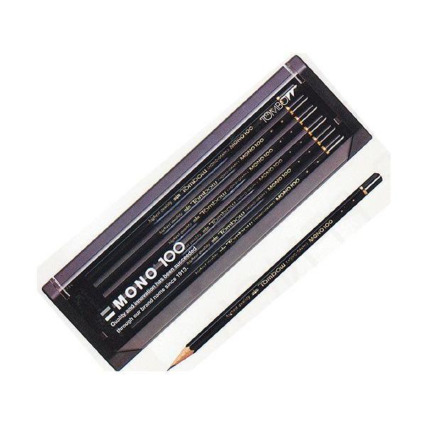 トンボ鉛筆MONO 高級鉛筆 モノ100 硬度:3B【無料名入れ】【卒園・入学記念品に】 10023482