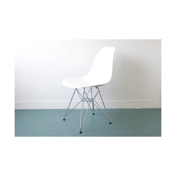 ハーマンミラー イームズ シェルサイドチェア ホワイト E1-2 Herman Miller DSR Eames Shell Chair