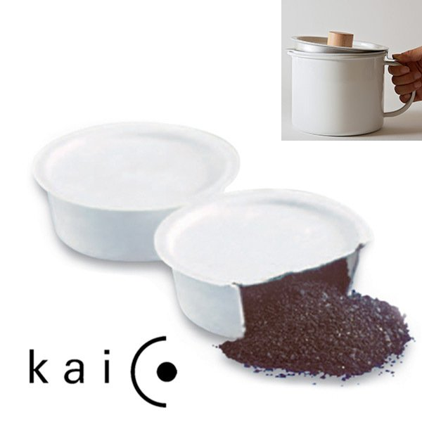 カイコオイルポット交換用活性炭フィルター2個入りkaico K-014