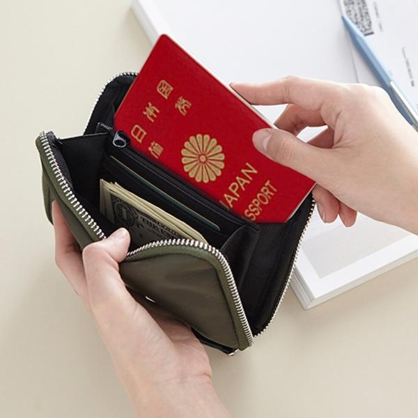 マルチポーチ パスポートケース ithinkso WEEKENDER MULTI HANDY 通帳 財布 母子手帳 ウォレット 海外旅行 セキュリティ トラベル財布 シークレット