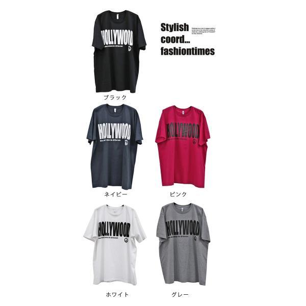 大きいサイズ レディース トップス Tシャツ ビックT 半袖カットソー celeb-honey 02