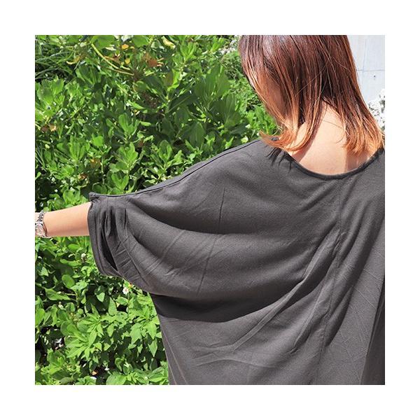 大きいサイズ レディース Tシャツ ドルマン オーバーサイズ ビック 英字ロゴプリント EMPTY ストリート/40代 50代 30代 春夏 2019ss(即納)|celeb-honey|10