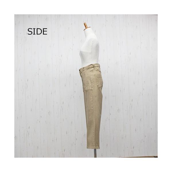 大きいサイズ レディース ツイルワイドベイカーパンツ/プラスサイズ 大きいサイズの服 トレンド カジュアル(取寄)|celeb-honey|11