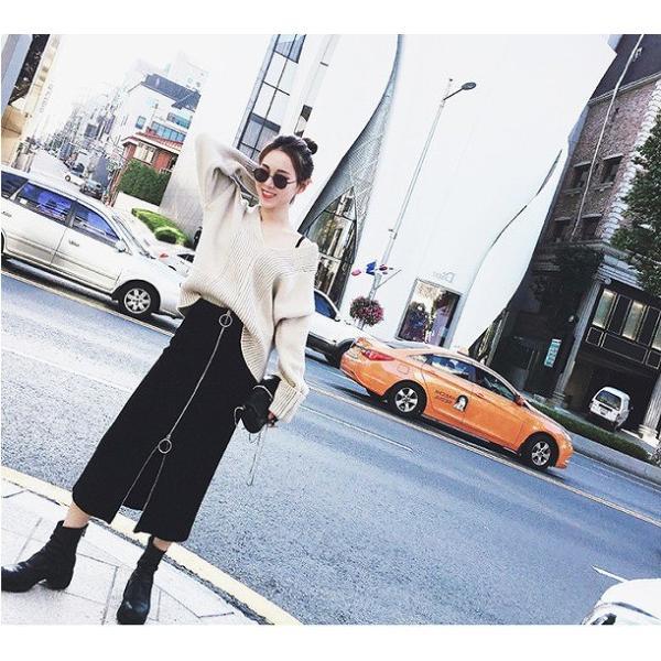 ボトムス レディース 大きいサイズ ジップデザイン ロング丈 タイトスカート 取寄 ctots-88516 celeb-honey 04