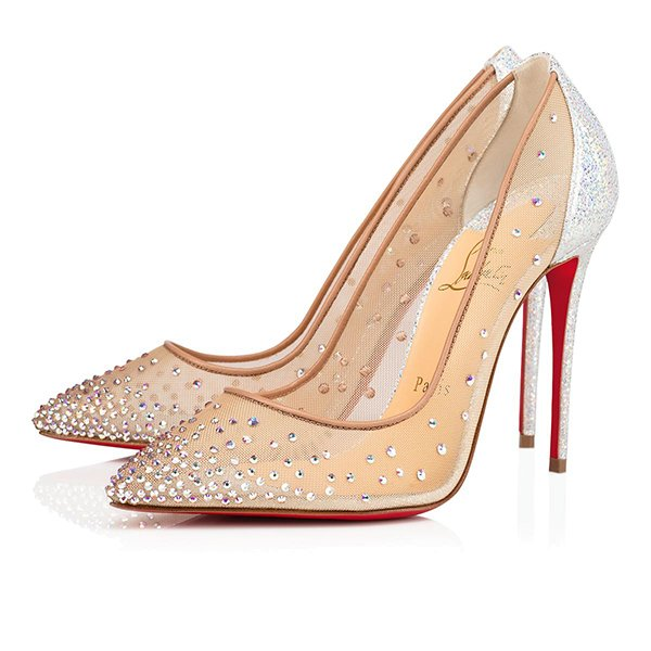 Christian Louboutin(クリスチャン ルブタン)『Follies Strass 100mm』