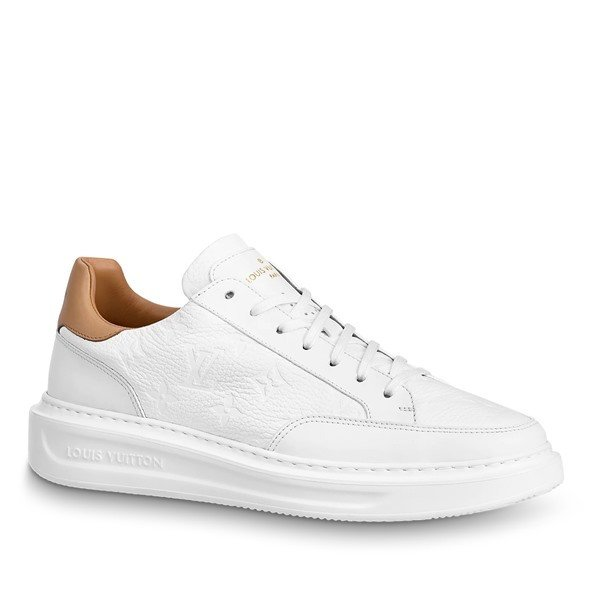 LOUIS VUITTON【ルイヴィトン】メンズSNEAKER BEVERLY HILLSスニーカー【bianco 】【送料無料】【正規品】