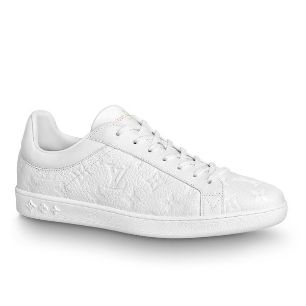 LOUIS VUITTON【ルイヴィトン】メンズSNEAKER LUXEMBOURGスニーカー【bianco 】【送料無料】【正規品】