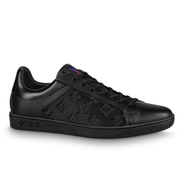 LOUIS VUITTON【ルイヴィトン】メンズSNEAKER LUXEMBOURGスニーカー【nero 】【送料無料】【正規品】