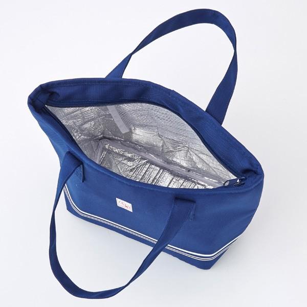 【トート型保冷温お弁当バッグ ネイビー】ランチバッグ 保冷バッグ おしゃれ 大きめ お弁当 大容量|celife|11