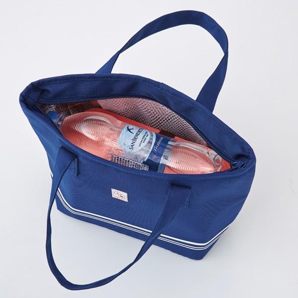 【トート型保冷温お弁当バッグ ネイビー】ランチバッグ 保冷バッグ おしゃれ 大きめ お弁当 大容量|celife|07