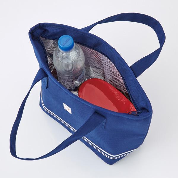【トート型保冷温お弁当バッグ ネイビー】ランチバッグ 保冷バッグ おしゃれ 大きめ お弁当 大容量|celife|08