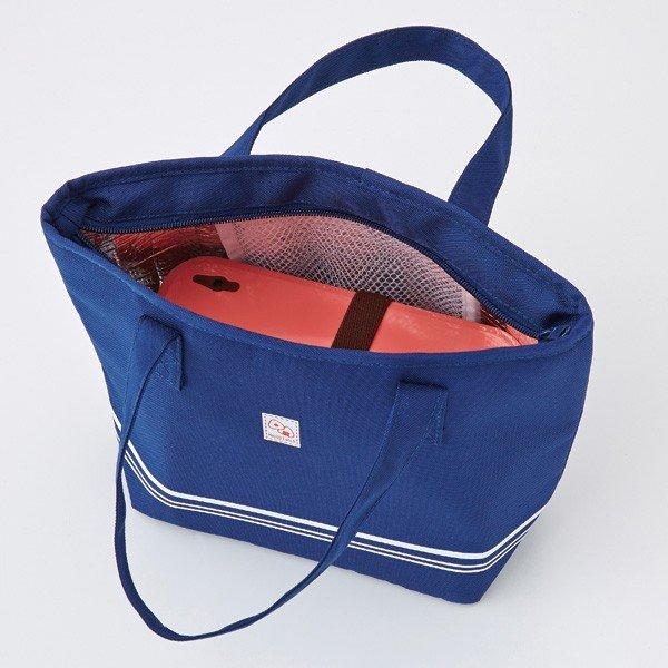 【トート型保冷温お弁当バッグ ネイビー】ランチバッグ 保冷バッグ おしゃれ 大きめ お弁当 大容量|celife|09