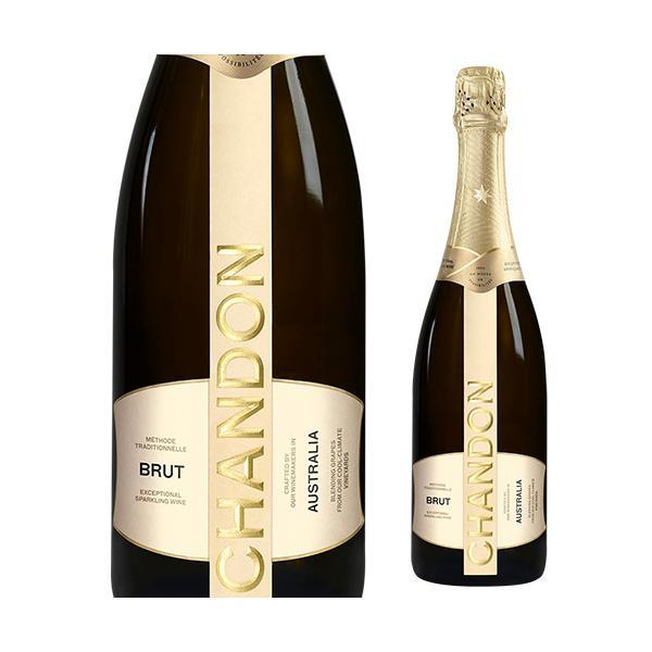 ワイン シャンドン ブリュットNV 正規品 750ml ドメーヌ シャドン スパークリングワイン お中元 敬老 御中元ギフト