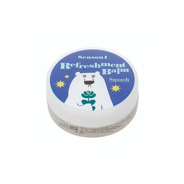 白くまマスク 白くまマスク リフレッシュメントバーム スカッシュ / 保湿バーム 花粉症対策 風邪対策の画像
