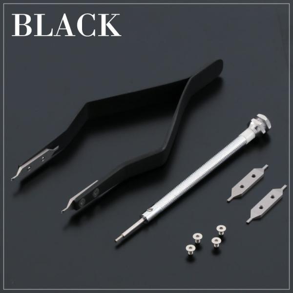 両つかみ式バネ棒外し 時計工具 腕時計工具 修理 調整 工具 ベルト バンド|cenfill|03